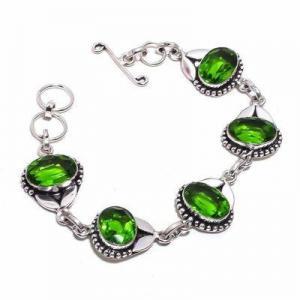Per 705d bracelet peridot 18gr 10x15mm achat vente bijou ethnique argent 925