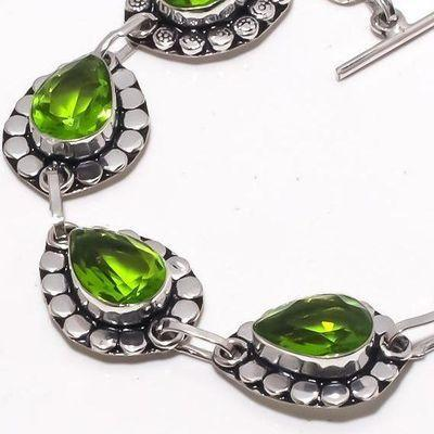 Per 706c bracelet peridot 19gr 10x15mm achat vente bijou ethnique argent 925