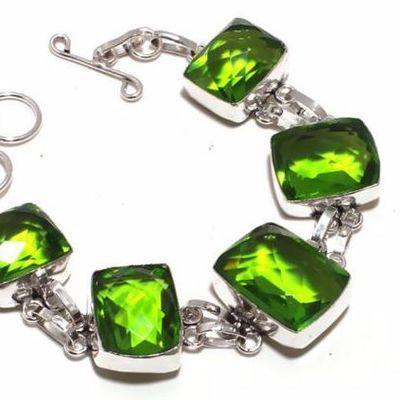 Per 707b bracelet peridot 32gr 20x15mm achat vente bijou ethnique argent 925