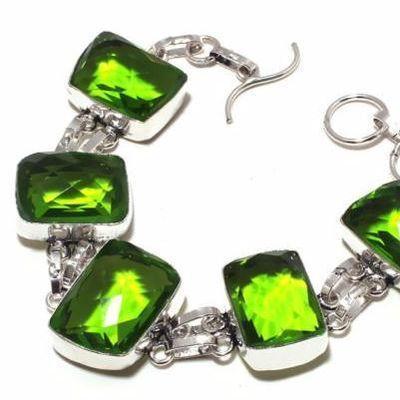Per 708c bracelet peridot 36gr 20x15mm achat vente bijou ethnique argent 925