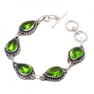 Per 710a bracelet peridot 18gr 10x15mm achat vente bijou ethnique argent 925