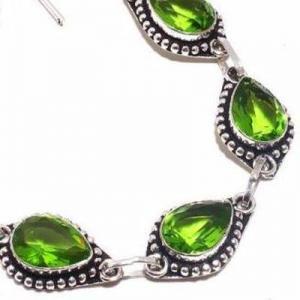 Per 710c bracelet peridot 18gr 10x15mm achat vente bijou ethnique argent 925
