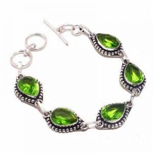 Per 710d bracelet peridot 18gr 10x15mm achat vente bijou ethnique argent 925