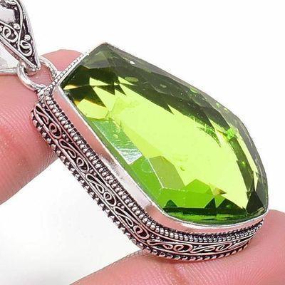 Per 722c pendentif pendants peridot 25x35mm 18gr achat vente bijou argent 925