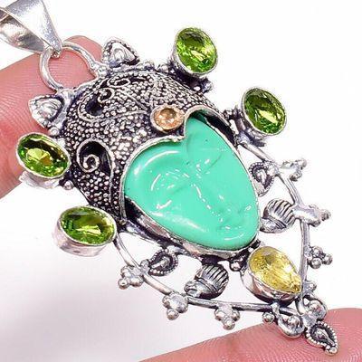 Per 723c pendentif pendants peridot bouddha 19gr achat vente bijou argent 925