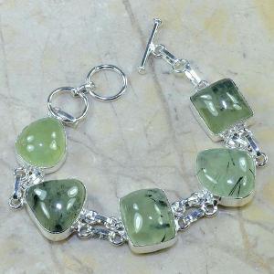 Prn 029c bracelet prehnite achat vente bijou argent 925