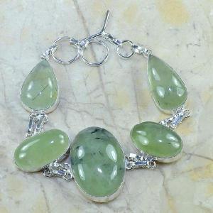 Prn 034c bracelet prehnite achat vente bijou argent 925