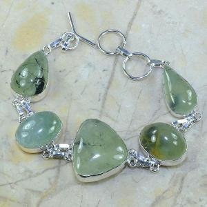 Prn 035a bracelet prehnite achat vente bijou argent 925