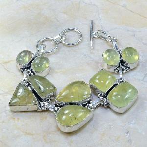 Prn 043a bracelet prehnite achat vente bijou argent 925