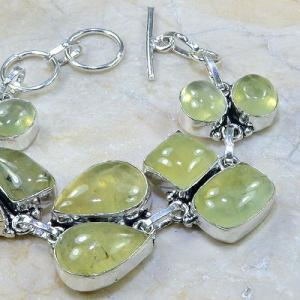 Prn 043c bracelet prehnite achat vente bijou argent 925