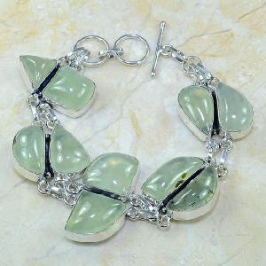 Prn 049a bracelet prehnite achat vente bijou argent 925