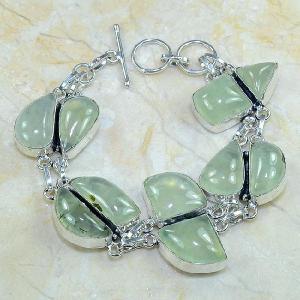 Prn 049c bracelet prehnite achat vente bijou argent 925