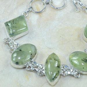 Prn 051b bracelet prehnite achat vente bijou argent 925