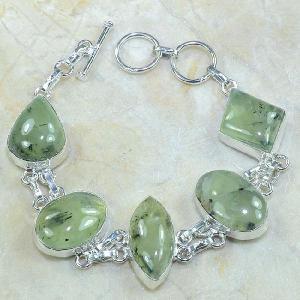Prn 051c bracelet prehnite achat vente bijou argent 925