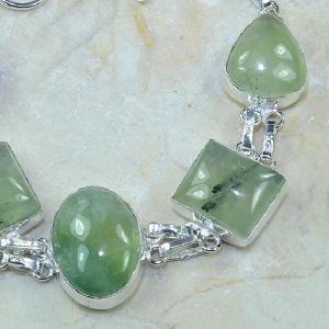 Prn 066c bracelet prehnite achat vente bijou argent 925