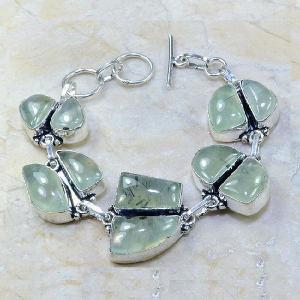Prn 069a bracelet prehnite achat vente bijou argent 925