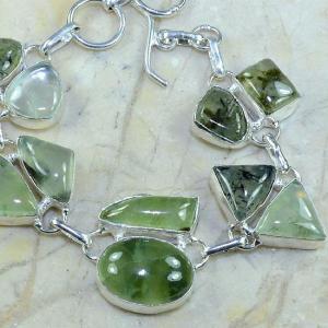 Prn 070c bracelet prehnite achat vente bijou argent 925