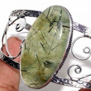 Prn 239c bracelet torque 25x50mm 43gr prehnite verte ethnique achat vente bijou argent 925