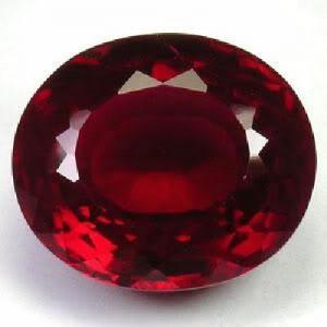 Pt 0077aa rubis 42cts 23mm coeur de pigeon madagascar if achat vente pierres precieuses