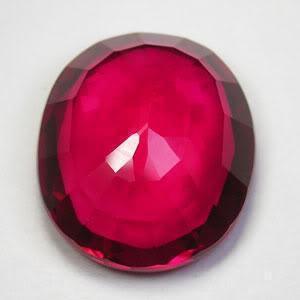 Pt 0077c rubis 42cts 23mm coeur de pigeon madagascar if achat vente pierres precieuses