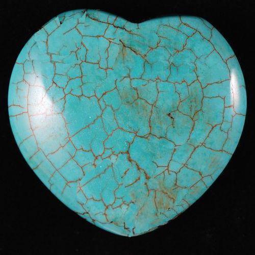 Ptq 021a perle turquoise coeur 31x29x12 achat vente loisirs creatifs