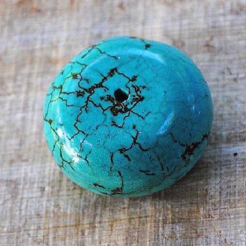 Ptq 032a perles turquoise 28x18mm achat vente loisirs creatifs