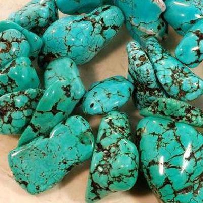 Ptq 036a perle turquoise naturelle bleue 12x12mm achat vente loisirs creatifs