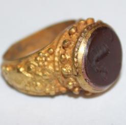 Ro 0017 bague romaine intaille cornaline 3