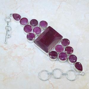 Ru 0045a bracelet rubis argent 925 achat vente