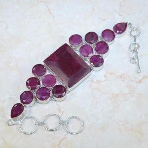 Ru 0045c bracelet rubis argent 925 achat vente