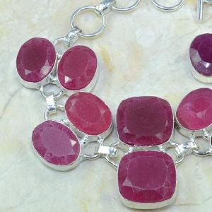 Ru 0333b bracelet rubis cachemire argent 925 achat vente
