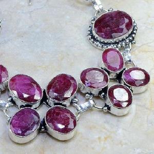 Ru 0335c bracelet rubis cachemire bijoux argent 925 achat vente