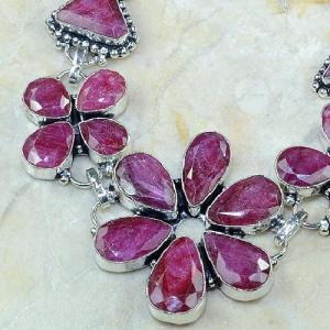 Ru 0345b bracelet rubis cachemire argent 925 achat vente bijou