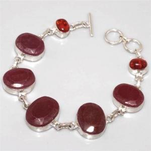 Ru 3877b bracelet rubis argent 925 achat vente