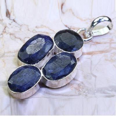 RUB-367 - PENDENTIF en SAPHIR Bleu du cachemire 58 carats 11,6 gr