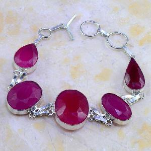 Rub 385d bracelet rubis ruby cachemire bijou argent 925 achat vente