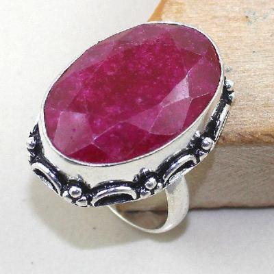 Rub 435a bague chevaliere medievale t62 rubis emeraude argent 925 achat vente bijoux 1