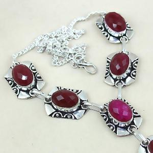 Rub 451c collier parure sautoir rubis cachemire achat vente bijoux argent ethniques