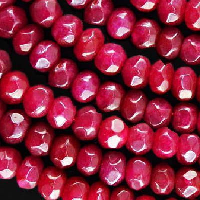 Rub 491a perles rubis 9x7mm lot loisirs creatifs pierres naturelles achat vente bijoux