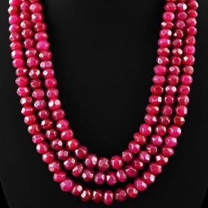 Rub 491d perles rubis 9x7mm lot loisirs creatifs pierres naturelles achat vente bijoux