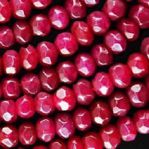 Rub 492a perles rubis 9x7mm lot6 loisirs creatifs pierres naturelles achat vente bijoux