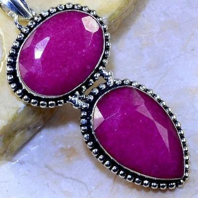 Rub 497c pendentif pendant rubis argent 925 achat vente bijoux