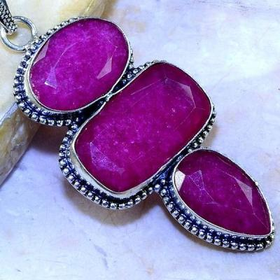 Rub 501c pendentif pendant rubis argent 925 gothique achat vente bijoux