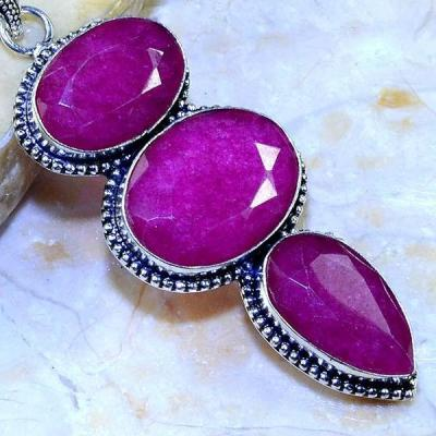 Rub 502c pendentif pendant rubis argent 925 gothique achat vente bijoux