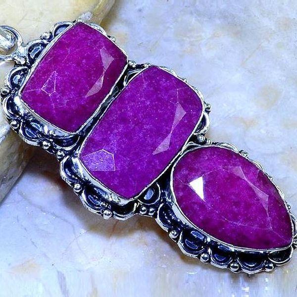 Rub 504b pendentif pendant rubis argent 925 gothique achat vente bijoux