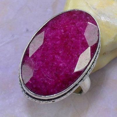 Rub 527a bague chevaliere t60 rubis medieval argent 925 achat vente bijoux 1900