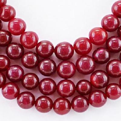 Rub 550a perles ronde 10mm rubis cachemire achat vente bijoux ethniques jpg50 1