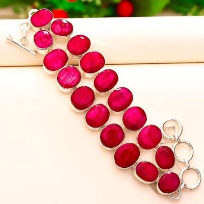 Rub 620a bracelet rubis achat vente bijou argent 925 1
