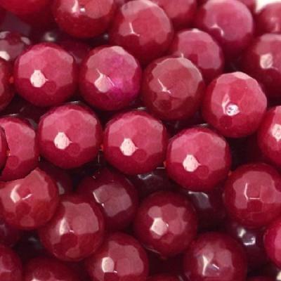 Rub 629b lot 4 perles rubis 12mm taillees facettees achat vente loisirs creatifs 1