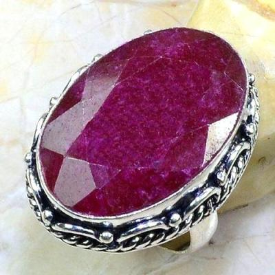 Rub 632a bague chevaliere t59 rubis medieval argent 925 achat vente bijoux 1900